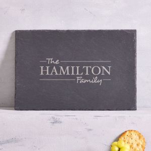 Personalised Family Cheese Board