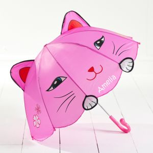 Personalised Childrens Cat Umbrella