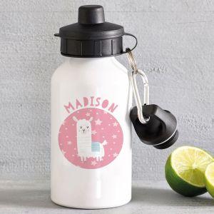 Personalised Llama Water Bottle