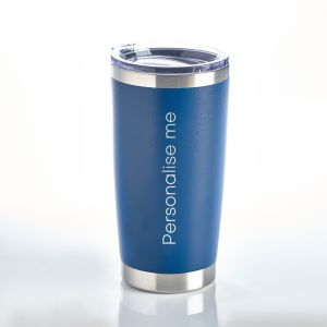 Personalised Travel Mug Blue