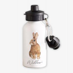 Bunny Rabbit Personalised Kids Water Bottle