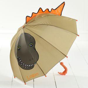 Personalised childrens dinosaur umbrella