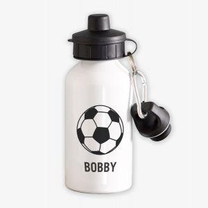 Football Personalised Childrens Water Bottle