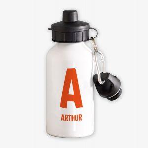 Monogram Name Personalised Kids Water Bottle