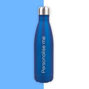 Personalised Navy Water Bottle