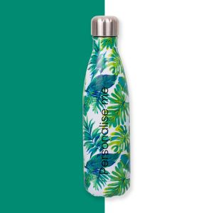 Personalised Palm Leaf Water Bottle