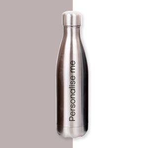 Personalised Stainless Steel Water Bottle