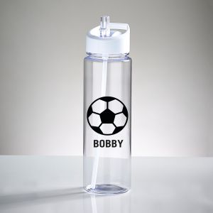 Personalised Football Sports Water Bottle