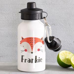 Personalised Fox Drink Bottle