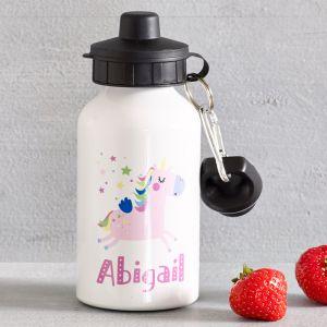 Personalised Unicorn Drink Bottle