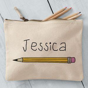 Personalised Pencil Case Pencil