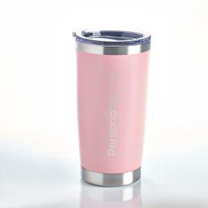 Personalised Travel Mug Pink