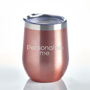 Personalised Insulated Tumbler Rose Gold