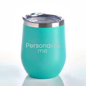 Personalised Insulated Tumbler Aqua
