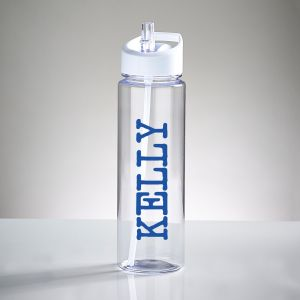 Personalised Name Sports Water Bottle